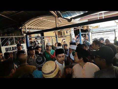 Kirab Satu Negeri GP Ansor Banser Kembali Ditolak Warga di Tanjung Balai Karimun, Kepulauan Riau