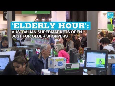'Elderly Hour': Australian Supermarkets Open Just For Older Shoppers