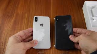 Unboxing Apple iPhone X - Space Grau & Silber - Deutsch