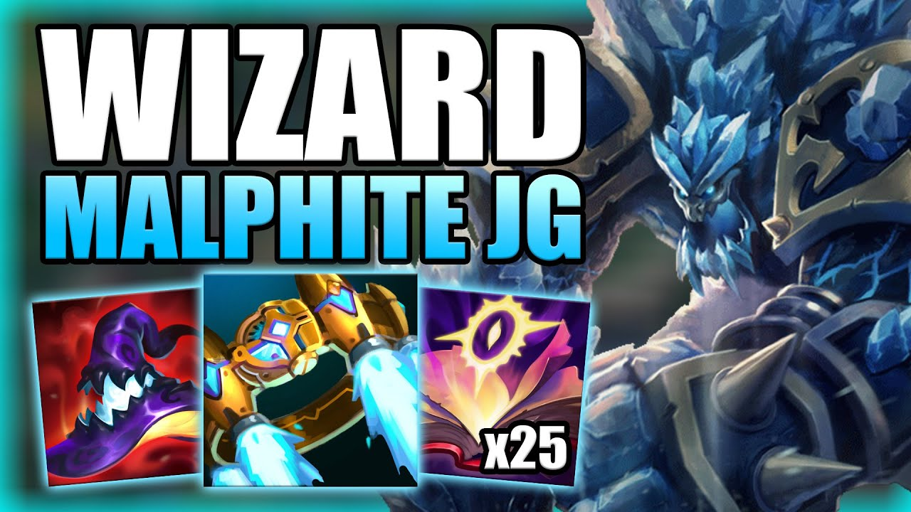 HOW TO PLAY FULL AP MALPHITE JUNGLE & ONE SHOT EVERYTHING! -Best Runes/Build Guide League of legends