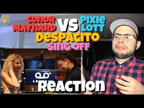 Conor Maynard VS. Pixie Lott - Despacito (Sing Off)(Luis Fonzi) | REACTION & THOUGHTS