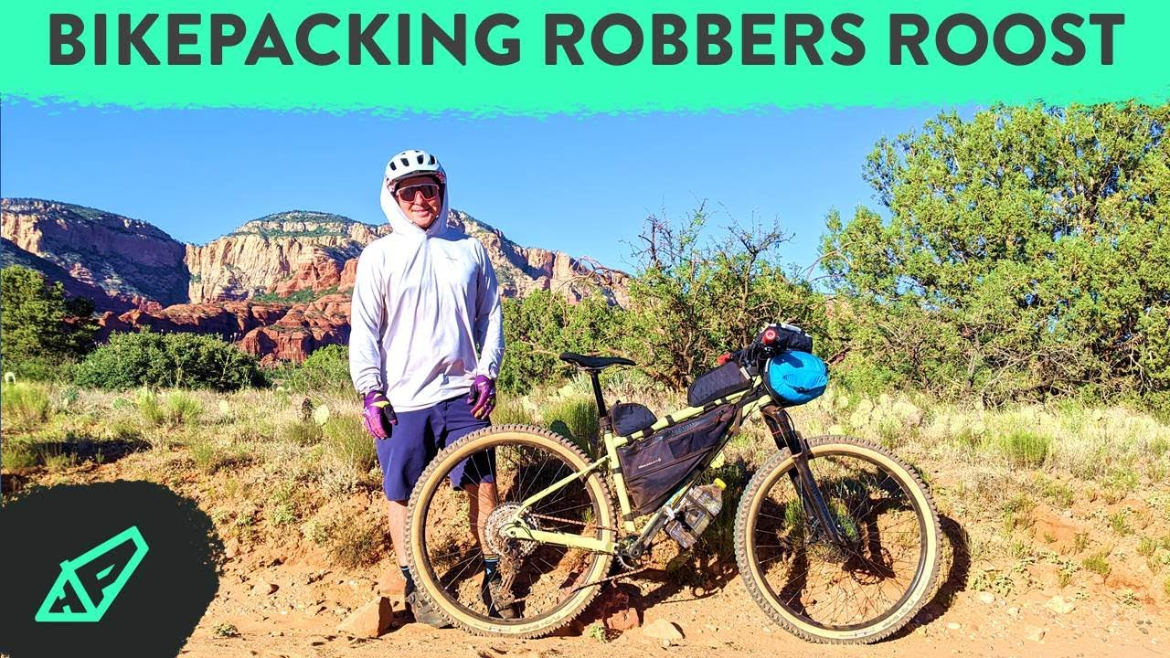 Bikepacking Robbers Roost (The Stolen West) in Sedona, Arizona: 50 miles, 2 days, 1 night
