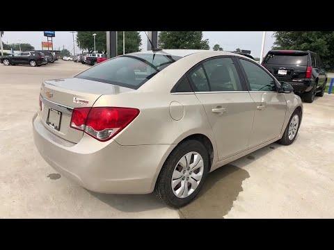 2012 Chevrolet Cruze Freer, Corpus Christi, Robstown, Kingsville, Alice, TX 4942470A