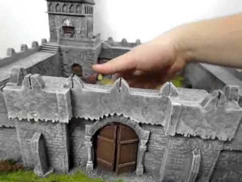 Fantasy Castle Fortress Perfect For Wargames And