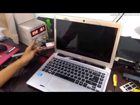 Service Laptop Acer Aspire V5-431-Layar LED Blank