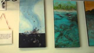 meet Lee West, painter from Art Walks Studio in St. Petersburg, leewestartist@yahoo.com