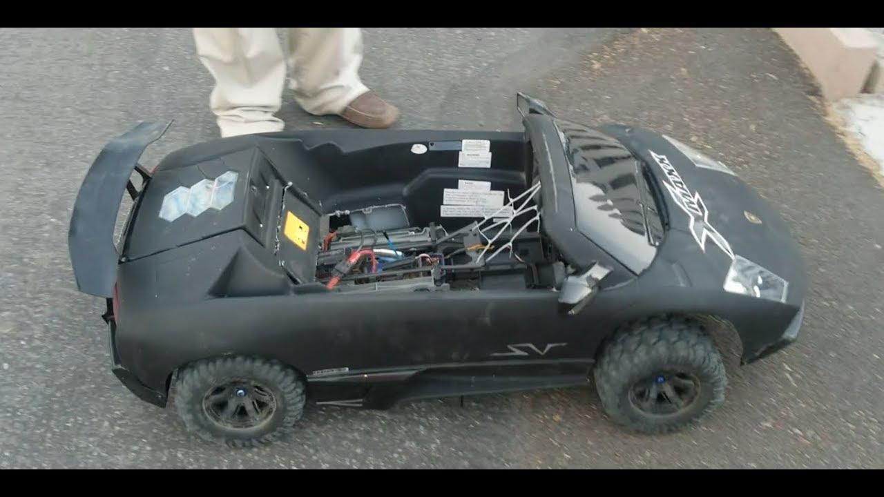 8 13 17 Traxxas X Maxx Lambo Test Drive Work In Progress Wip Youtube