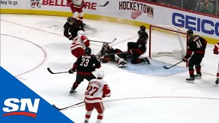 Justin Faulk Bails Out The Hurricanes With An Incredible Block