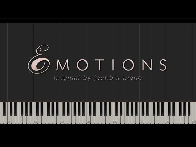 Emotions \\ Original Composition \\ Synthesia Piano Tutorial