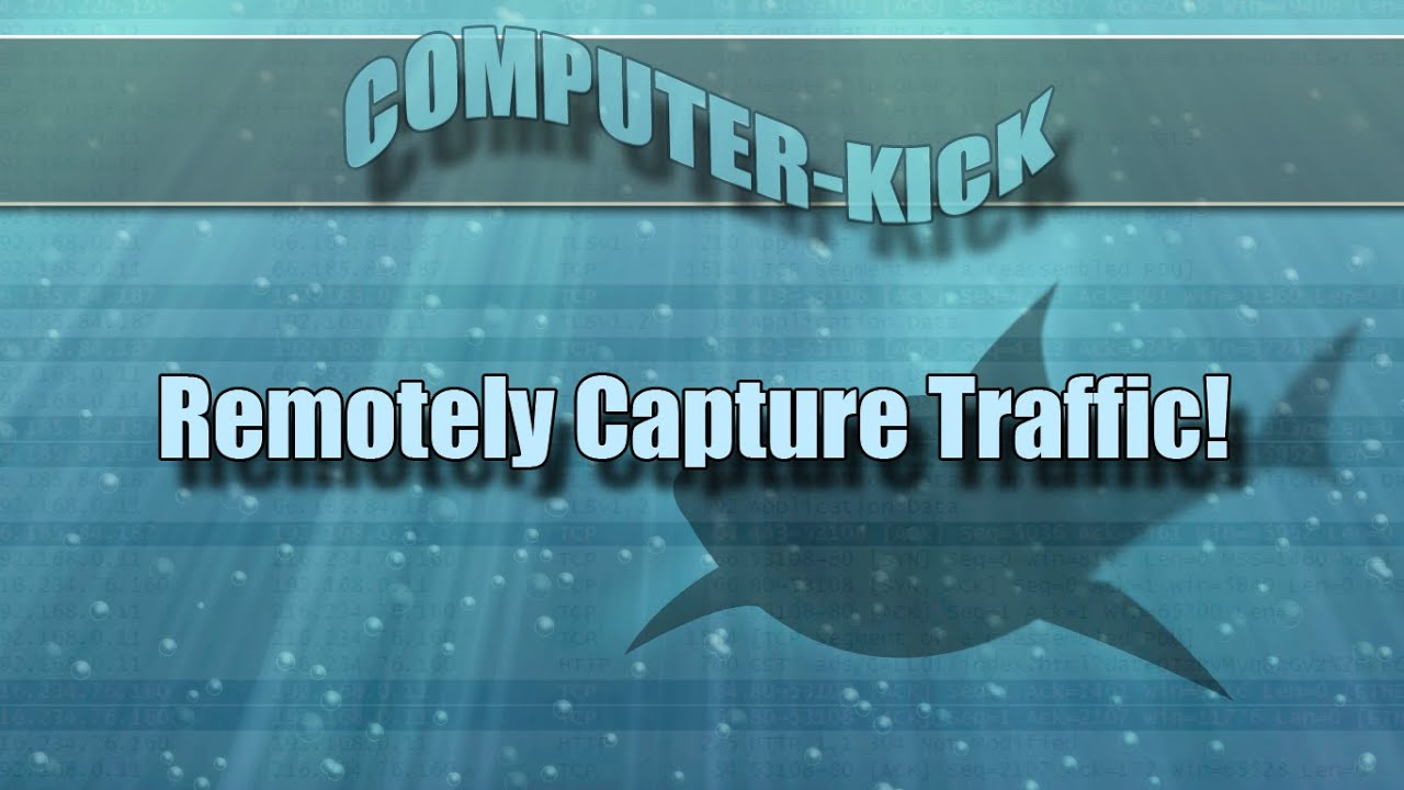 EASY - Remotely Capture Wireshark Traffic!