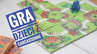 Gra Dzieci z Carcassonne 4+ nasza ulubiona gra kafelkowa