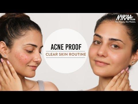 Skin Care Routine For Acne Prone Skin Ft. Simmy Goraya | Nykaa