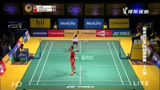 [HD] R16 - MS - LEE Chong Wei vs WANG Zhengming - 2014 Malaysia Badminton Open