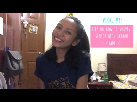 VLOG #3: Tips on How to Survive Senior High School - Grade 11 (Payong Beshie lang, Mga Besh!) from YouTube · Duration:  10 minutes 24 seconds