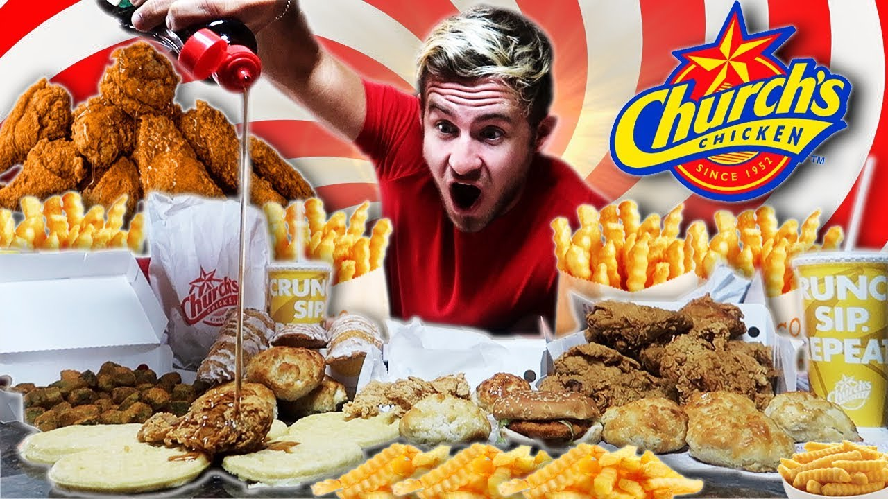the-supercharged-church-s-chicken-menu-challenge-12-000-calories