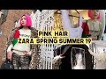 Shopping in Korea: Zara Spring Sumer '19 Outfits, Dyeing Hair Super Pink | Q2HAN