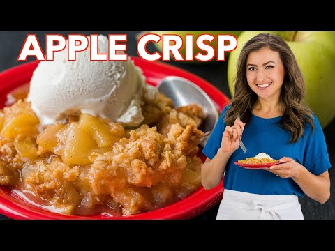 Apple Crisp Recipe – How To Make Apple Crisp
