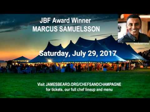 James Beard Foundation Chefs & Champagne 2017