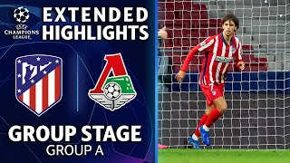 Lokomotiv Moscow vs. Atletico Madrid: Extended Highlights | UCL on CBS Sports