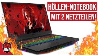 Höllen-Notebook mit 5 GHz All-Core und Luxus-Ausstattung: Gaming-Leistung im Test | #Höllenmaschine