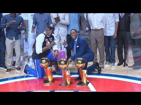 Detroit Pistons Play Final Game At the Palace! Legends Honored!