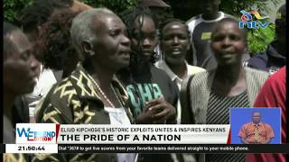 INEOS 1:59 Challenge: Eliud Kipchoge's mother's reaction after victory