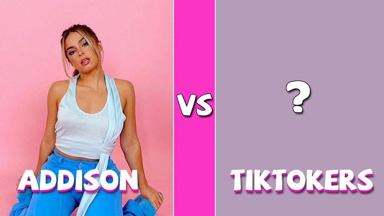 Addison Rae Vs TikTokers (TikTok Dance Battle October 2021)