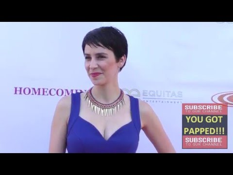 Megan Messmer at the Homecoming Premiere at Laemmle's Music Hall in Beverly Hills