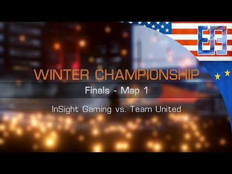 5v5 Winter Championship Final - Insight Gaming vs Team United - Operation Lockers Domination
