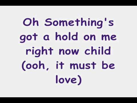 Christina Aguilera - Something's Got A Hold On Me ( w/lyrics on screen) Burlesque