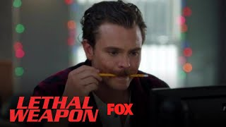 Riggs Tests His Hand At Office Paperwork   Season 2 Ep. 10   LETHAL WEAPON