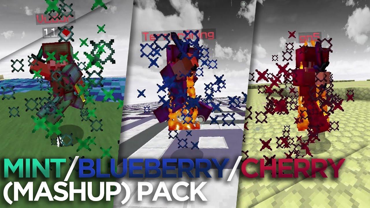 MathoX MINT / BLUEBERRY / CHERRY (Mashup) Pack ! – multicraftfr