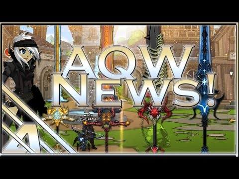 AQW News: Crulon's Pirate Gear Zee's 2016 Birthday Blades, Tana's Mirror Set