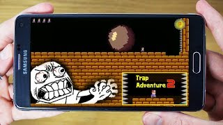 "⚠World's Most Hardest & Frustrating Game Ever ""Trap Adventure 2"" For Android & iOS 
