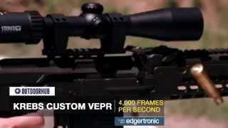 Dragunov Sniper Rifle Firing in Slow Motion! Plus AKS-74 Clone and Krebs Custom Vepr