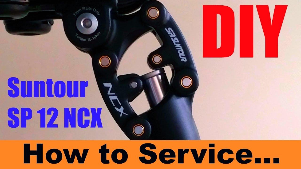 Suntour SP12 NCX service englisch