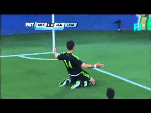 Chicharito || Mexico 1-0 Ecuador