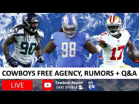 Dallas Cowboys Report With Tom Downey (NFL Free Agency Frenzy) - March 19th