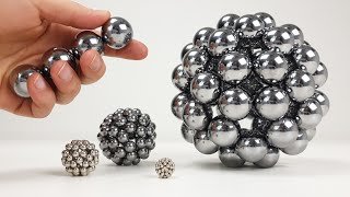Playing with Big Magnet Balls | Magnetic Games