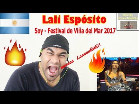 LALI ESPOCITO - Soy - Festival de Viña del Mar 2017   ARGENTINA (LATIN) VIDEO REACTION   Aalu Fries