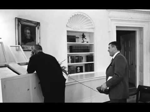 LBJ and Robert F. Kennedy, 11/3/64, 11.55P.