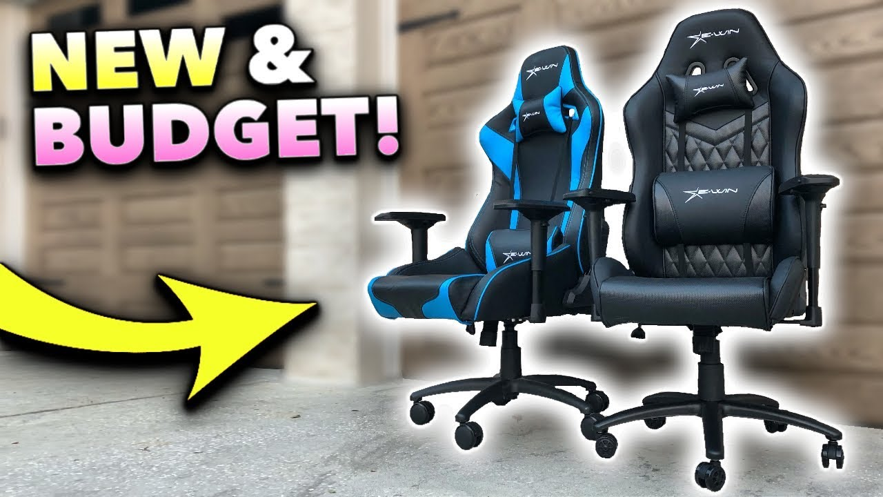 *NEW* World's Best BUDGET Gaming Chair 2019! (Full Review)