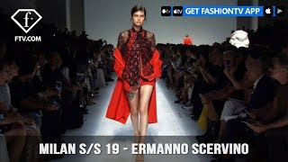 Milan Fashion Week Spring/Summer 2019 - Ermanno Scervino   FashionTV   FTV