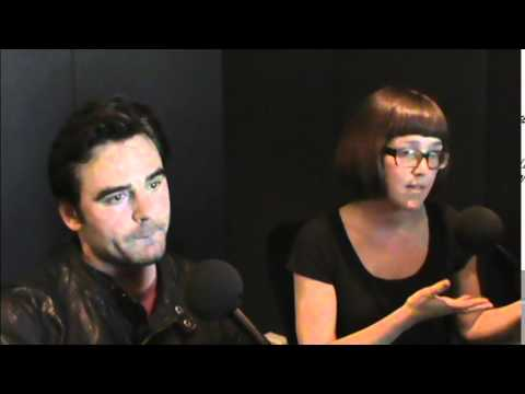 Sunday   with actorproducer Dustin Clare and director Michelle Joy Lloyd