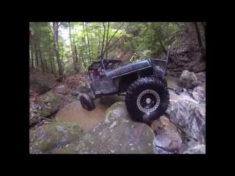 West Virginia EXTREME ROCK CRAWLING