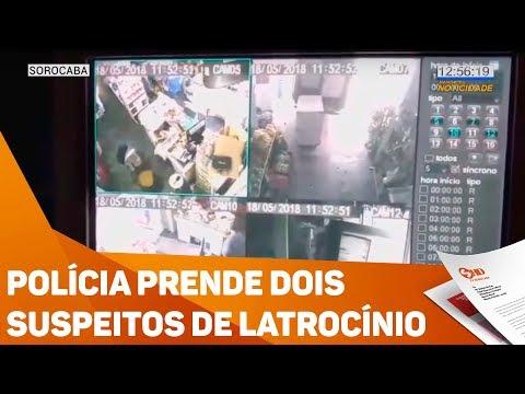Polícia prende dois suspeitos de latrocínio - TV SOROCABA/SBT