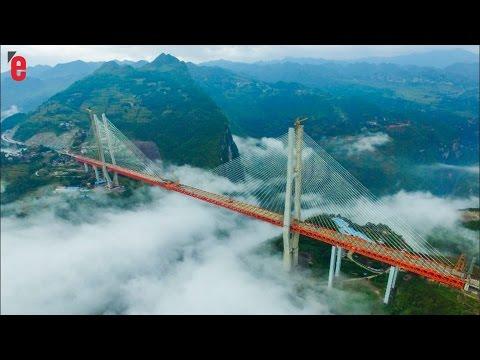ce pont aussi grand qu un immeuble 200 tages est le plus haut du monde youtube. Black Bedroom Furniture Sets. Home Design Ideas
