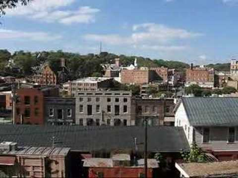 Travel Staunton, Virginia: Great view over the city