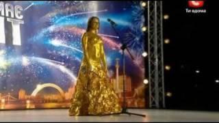 Украина мае талант 3 / Одесса / Елизавета Кодочигова