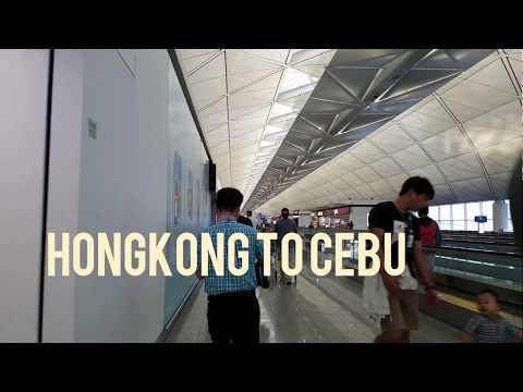 Hongkong to Cebu trip